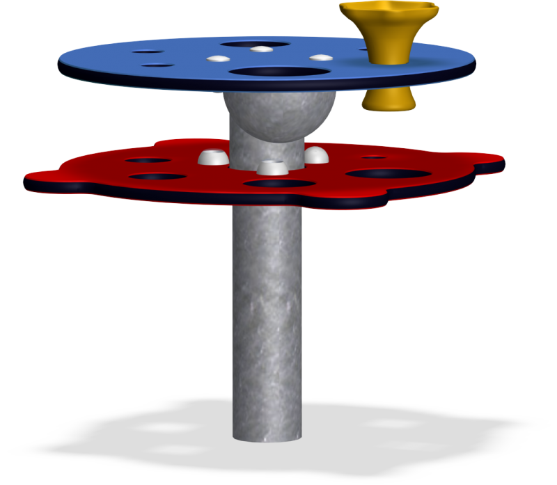 Rotating Table | Sand & water play | Rotating Table from KOMPAN