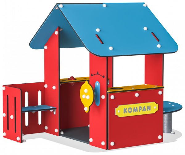 Red House | Playhouses | Red House from KOMPAN