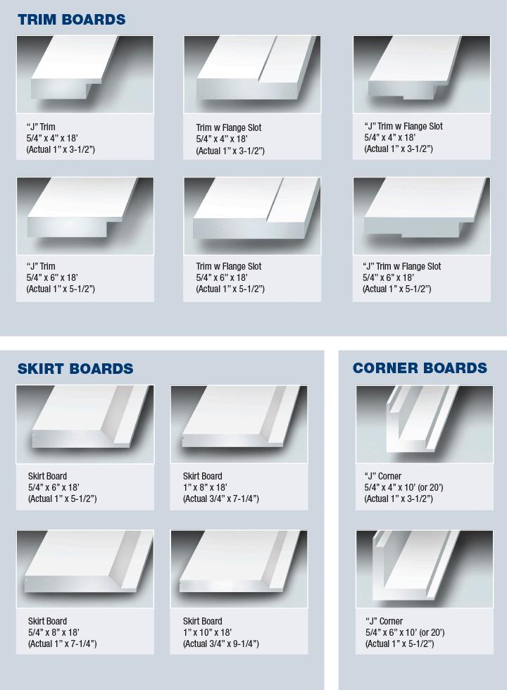 KOMA Trim boards - Kovert Collection