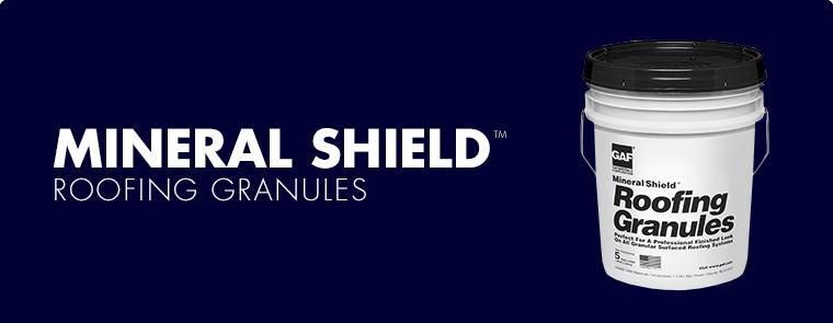 Mineral Shield™ Roofing Granules