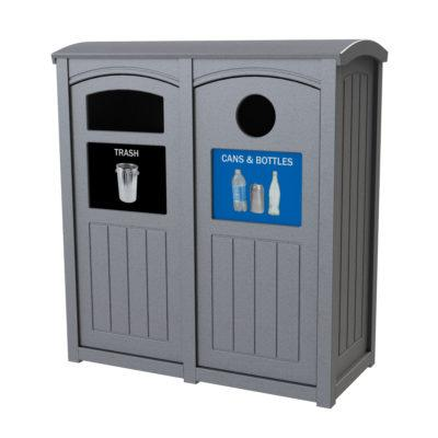 Outdoor Recycling Bins and Containers