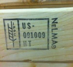 On-Demand Wood Packaging Stamping Service | NELMA