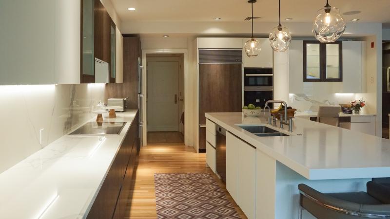 Chestnut Hill Kitchen Renovation | Kitchen With Two Islands | Your German Kitchen
