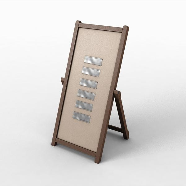 A-Frame Interchangeable Message Sign