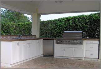 Outdoor Grill Cabinet