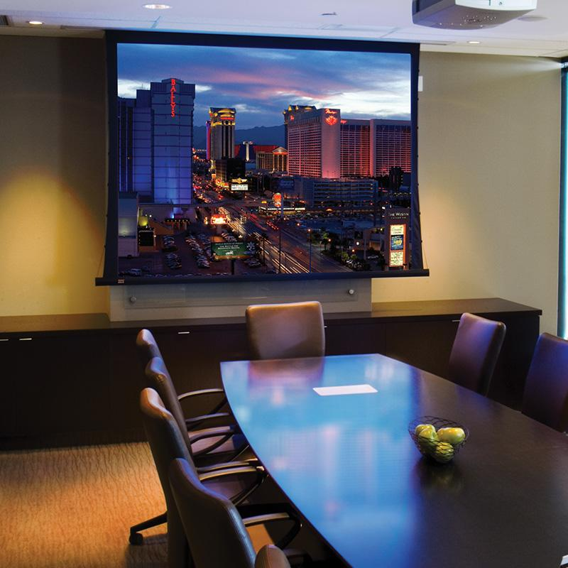 Access FIT V Electric Projection Screen :: Draper, Inc.