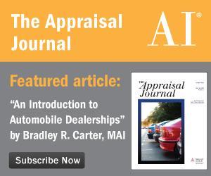 The Appraisal Journal