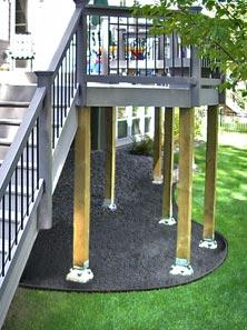 Diamond Pier for Residential Construction Pin Foundations