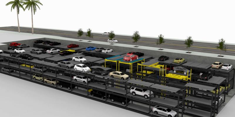 Aisle Parking Systems | CityLift