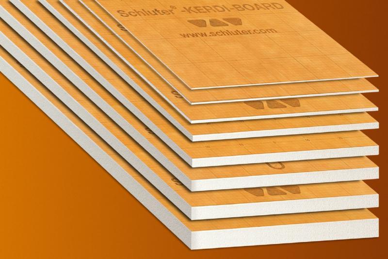 Schluter®-KERDI-BOARD   KERDI-BOARD Panels   Building Panels   schluter.com