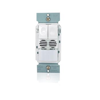 Wattstopper® - DSW-200-W Dual Technology Wall Switch Occupancy Sensors