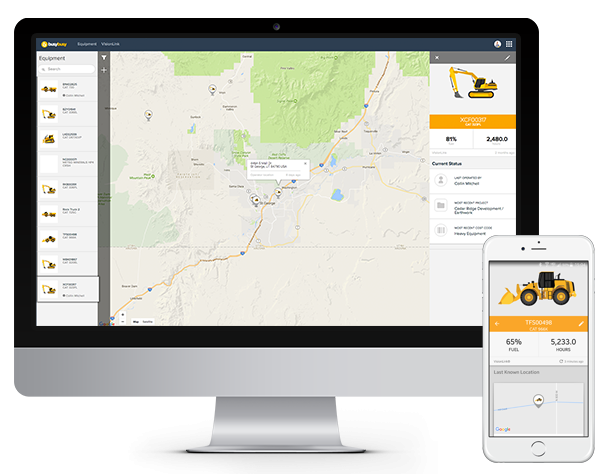Equipment GPS Time Tracking app for Contractors, Construction & Mobile Companies   busybusy™