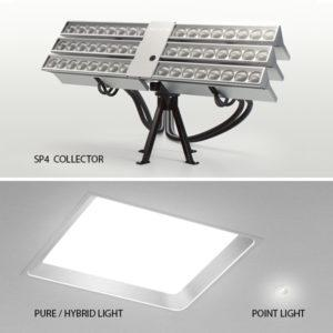 Parans Fiber Optic Daylighting Systems | Commercial Daylighting
