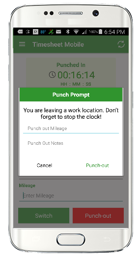 Geofence Time Tracking | Time Sheet Mobile