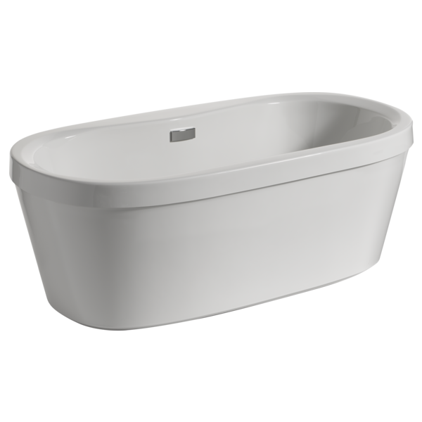 """68"""" x 36"""" Freestanding Tub with Integrated Waste and Overflow B14416-6836-WH   Delta Faucet"""