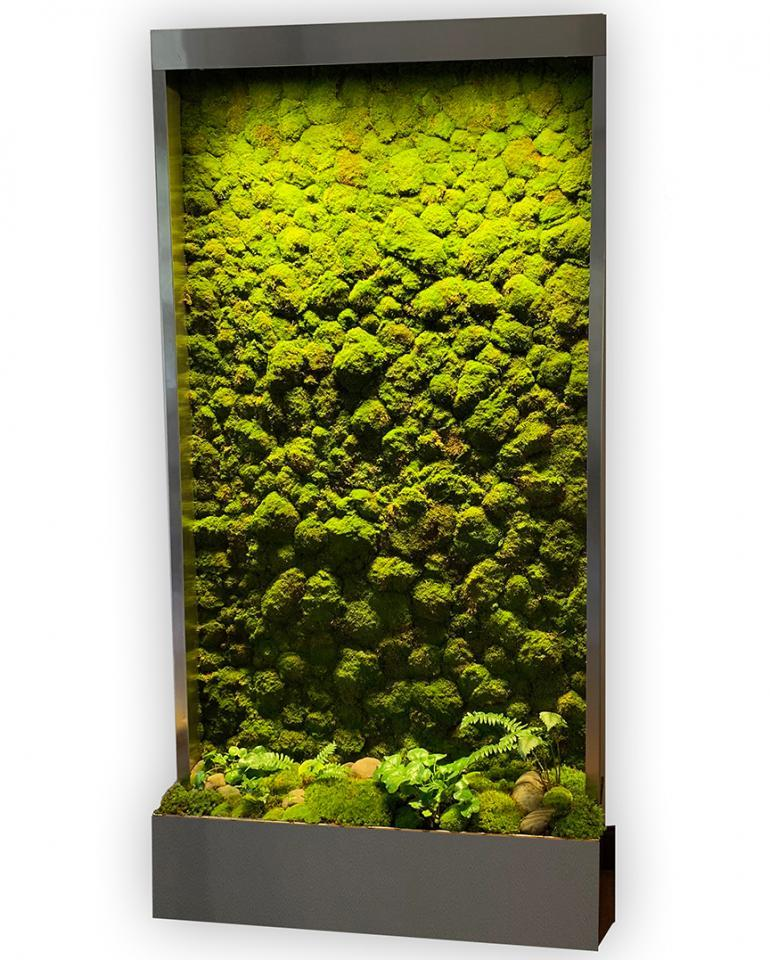 Live Moss Walls, Indoor Living Walls, Self Contained Living Walls, Living Wall Systems