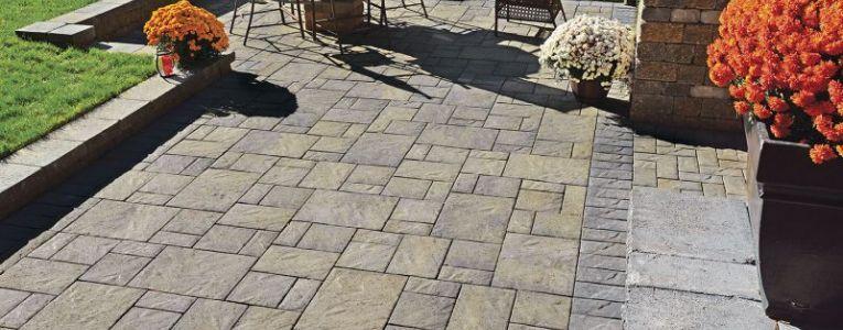 Andover Collection™ - Concrete Patio Pavers - Boston MA Concrete Pavers and Bricks - New England Patio Pavers - Driveway and Sidewalk Pavers New England