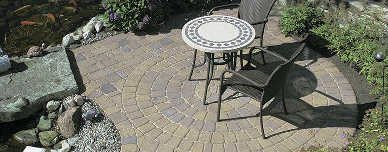 Yankee Cobble™ - Concrete Patio Pavers - Boston MA Concrete Pavers and Bricks - New England Patio Pavers - Driveway and Sidewalk Pavers New England