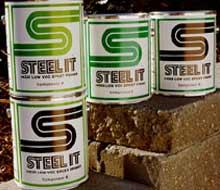 Low VOC, High Solids Paint: Environmental Epoxy Coating, Non-Toxic Industrial Safe Eco Paint for Metal+, Antirust Durable & Lasting | STEEL-IT®