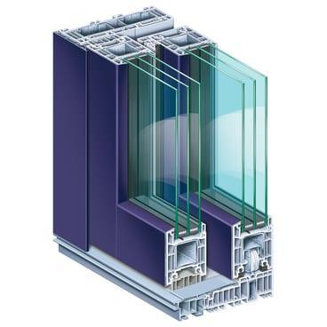KÖMMERLING PremiDoor 76 AluClip lift/sliding door system