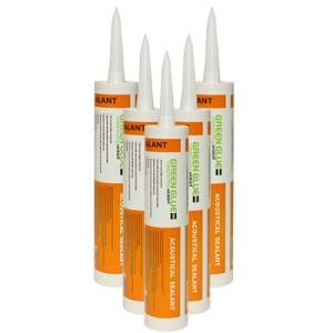 Acoustical Soundproofing Caulking for all Corners and Edges
