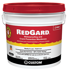 RedGard - Waterproofing & Crack Isolation Membranes | Custom Building Products