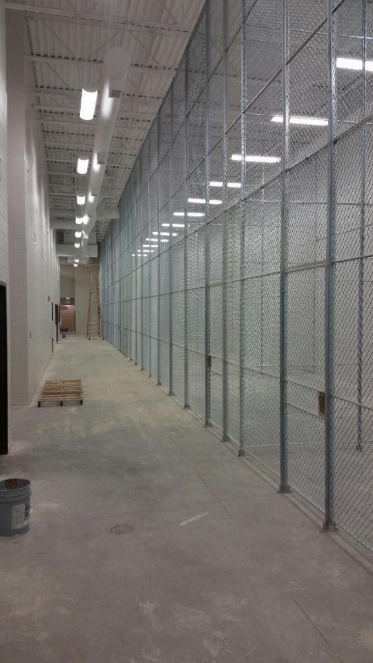 Wire Mesh Partitions from ACORN Wire & Iron Works