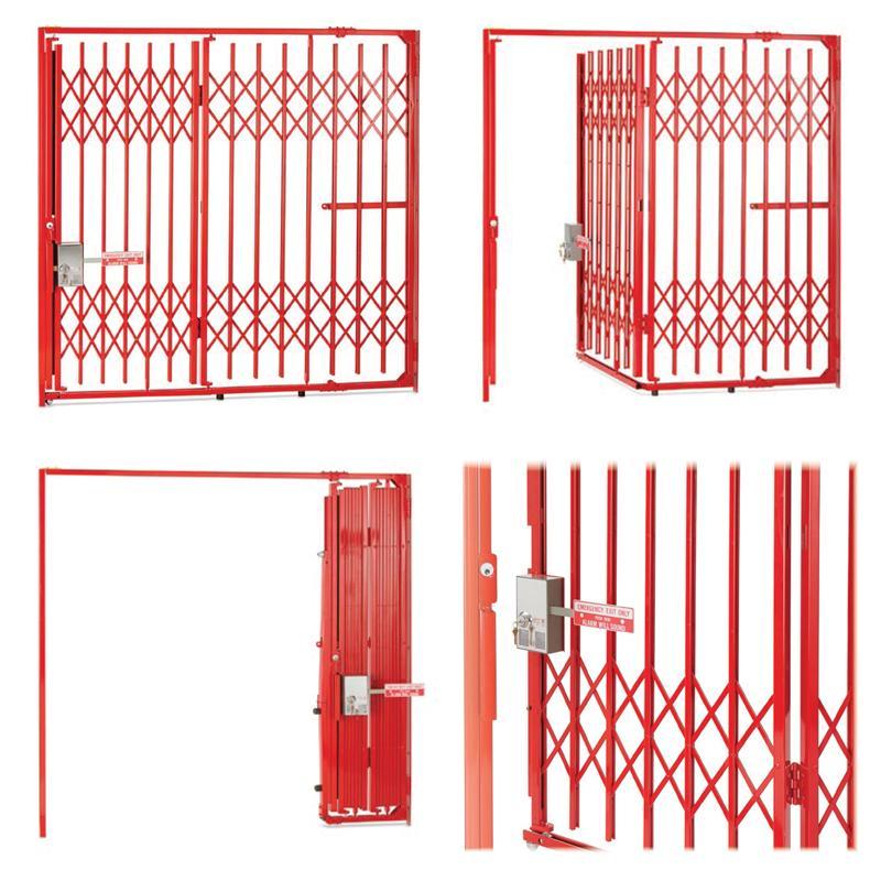 School Security Folding Gates - School Security Applications - Acornwire.com