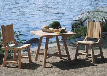 Rustic Log Furniture | Walpole Woodworkers