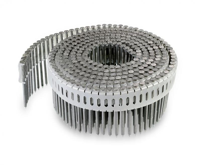 0° Inserted Plastic Coil, Full Round Head, Ring-Shank Nail | Simpson Strong-Tie
