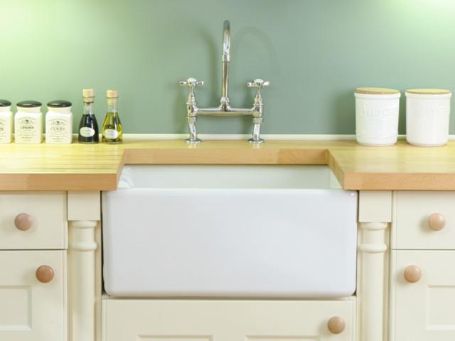 Contemporary Belfast Kitchen Sink   Shaws of Darwen