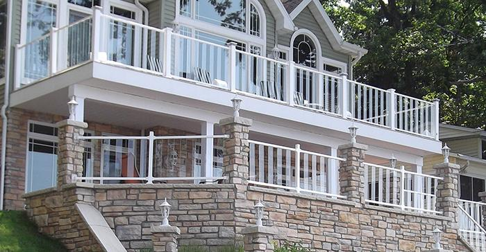 Pure View Glass Railing - Fortress Railing