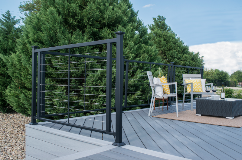 H-Series Cable Railing   Fortress Railing Products   15 Year Warranty
