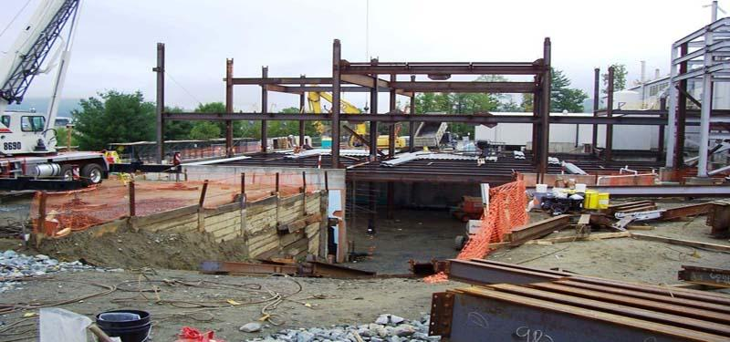 Commercial & Industrial Structural Engineering   MA,NH   ALLEN & MAJOR ASSOC.