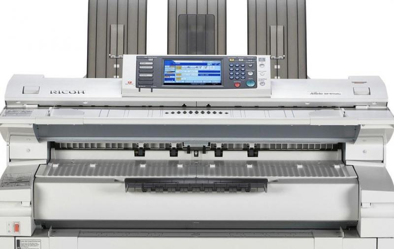Ricoh Wide Format Plotters, MP W7100m MP W8140, MP W6700SP