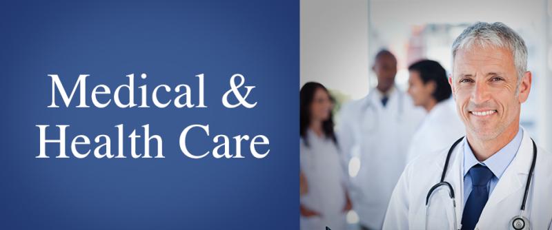 SBA Loans and SBA Funding by SBA Loan Group | Medical and Health Care - SBA Loans and SBA Funding by SBA Loan Group