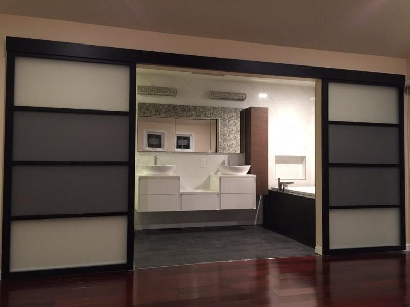 Suspended Glass Doors | Wall Slide Interior Doors | The Sliding Door Company