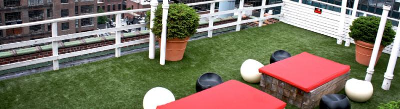 SYNLawn Roof Deck and Patio System | artificial grass products