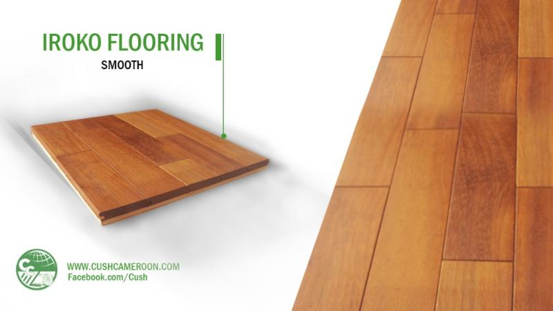 Iroko Solid Unfinished Wood Flooring