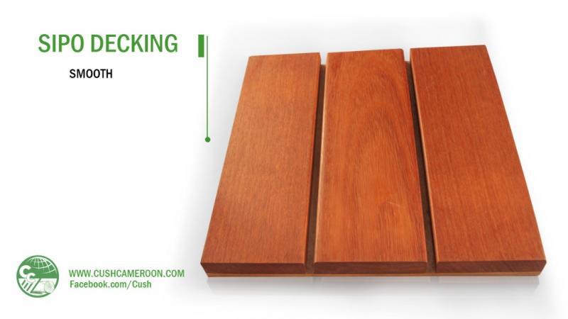 Sipo Deck Boards