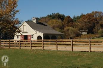 Wooden Fences - Post & Rail