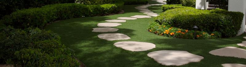 SYNLawn artificial grass lawn and landscape products