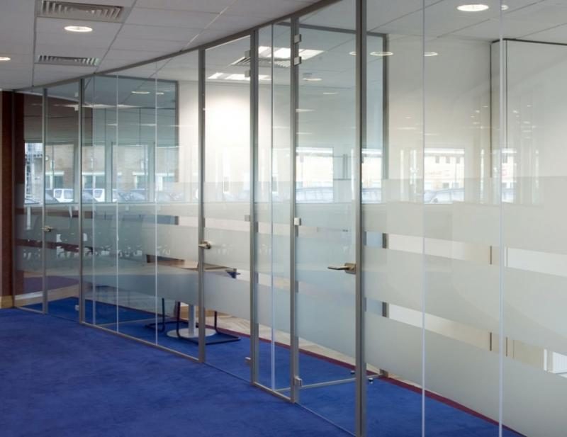 Single Glazed Framed Glass Doors