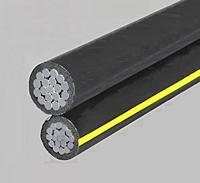 Duplex Conductor 600V Secondary Type URD Cable - Aluminum Conductor