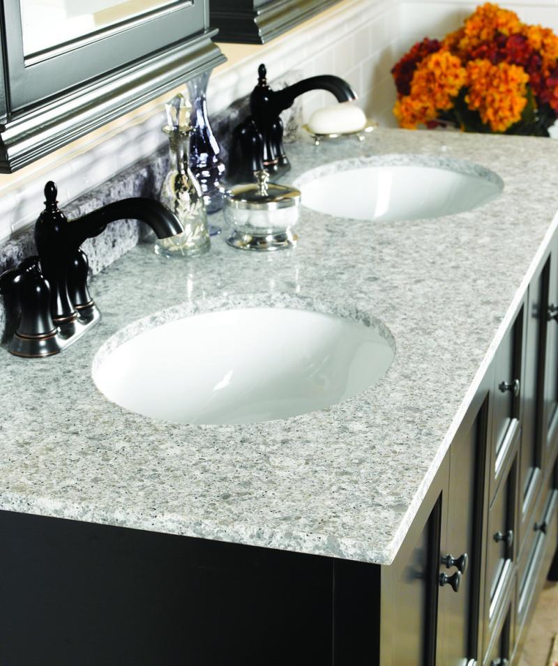 Wolf Quartz Bathroom Vanity Tops