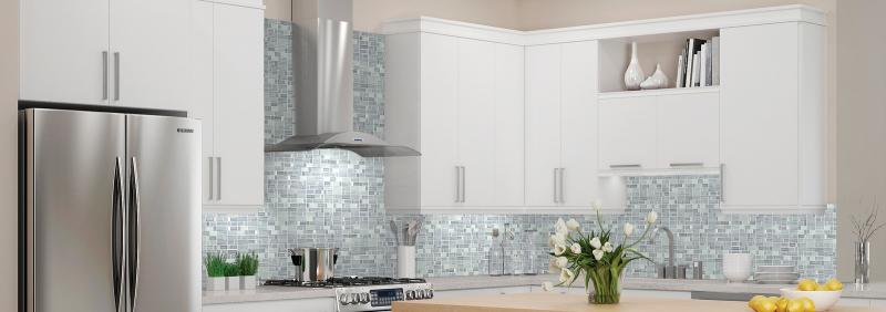 Accent Tile Backsplash - Kitchen & Bath