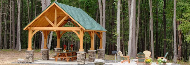 Wooden Pavilions | Wooden Gable Pavilions