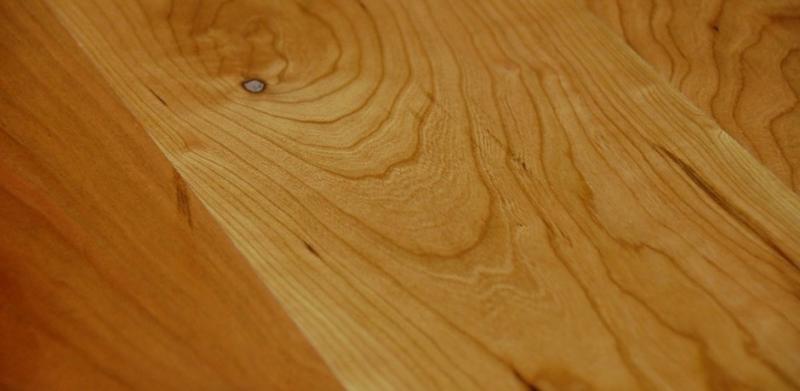 Cherry - Select with Polyurethane - Seneca Hardwood Lumber Co. Inc.