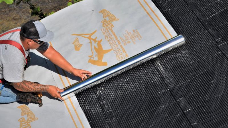 Sharkskin Ventilated Roof Mat