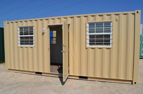 Shipping Container Office | Single Office - 20' or 40' Length